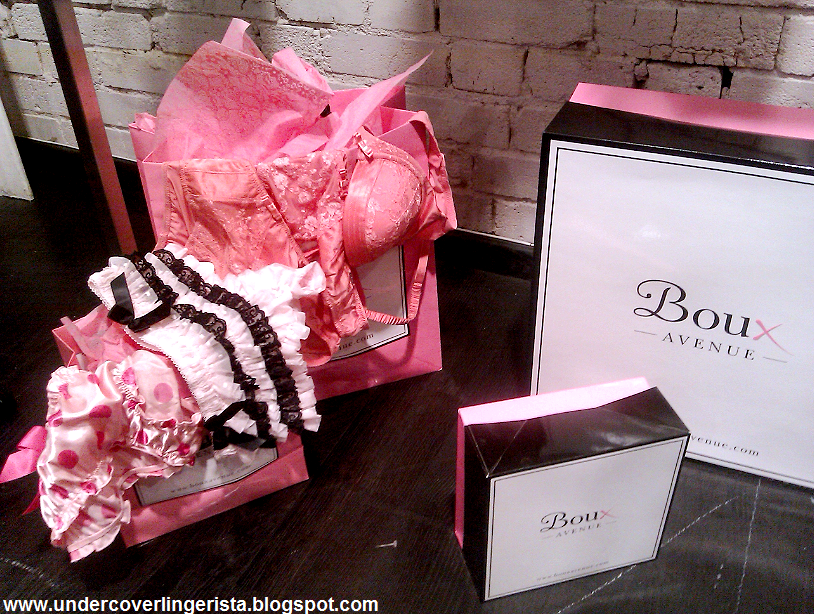 780da04a88664 There was even a fabulous boudoir dressing table set up to display Boux s  fashion and beauty accessories!