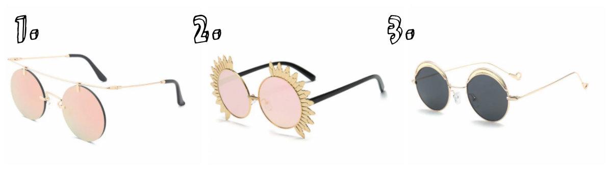 ... óculos redondos são um misto do vintage com o moderno na medida certa.  As opções são inúmeras  espelhados, metal ou acetato! Não importa, o  importante é ... 4262153961
