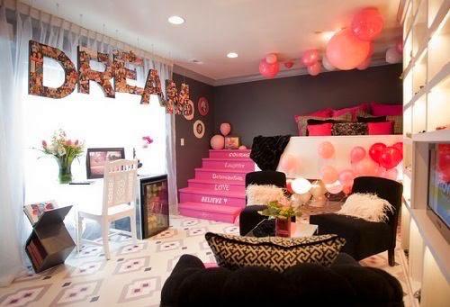 quarto de menina luxo