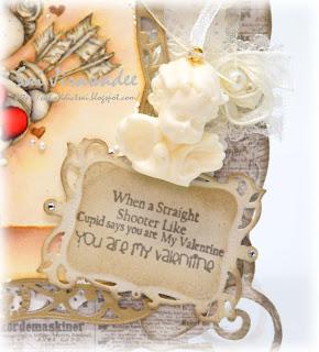 Magnolia You Are My Valentine Tilda