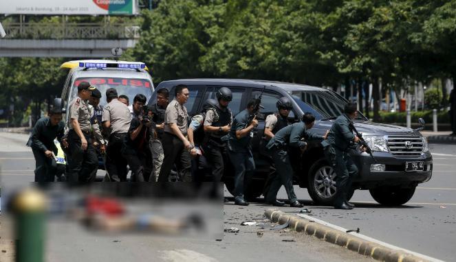 Empat Pelaku Bom Sarinah Jakarta Dipastikan Tewas