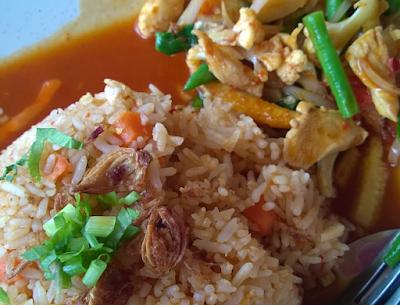 Resepi Nasi Goreng Ayam Paprik Ala Thai Yang Sedap