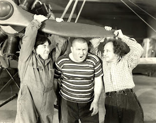 The Three Stooges Moe Larry Curly Dizzy Pilots
