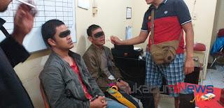 Kedua oknum polisi ini diketahui merupakan personil Polres Gayo Luwes Aceh