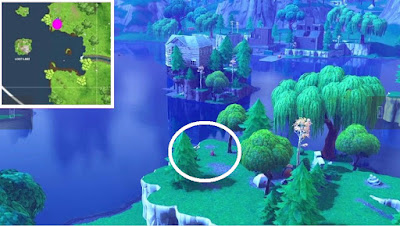 Fortnite, Skeet Shooting Location, Clay Pigeon Location, Loot Lake, Map