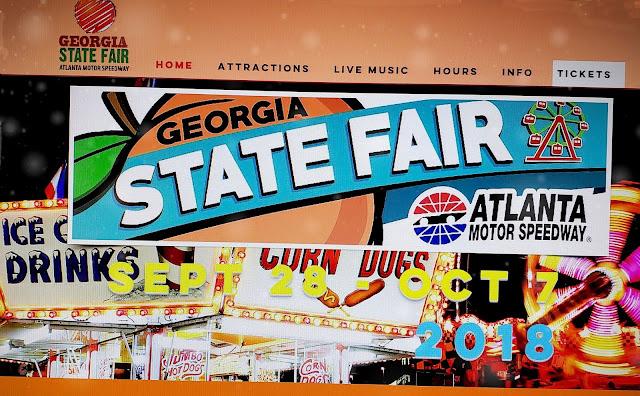 Next stop decatur georgia state fair sept 28 oct 7 for Atlanta motor speedway fair 2017
