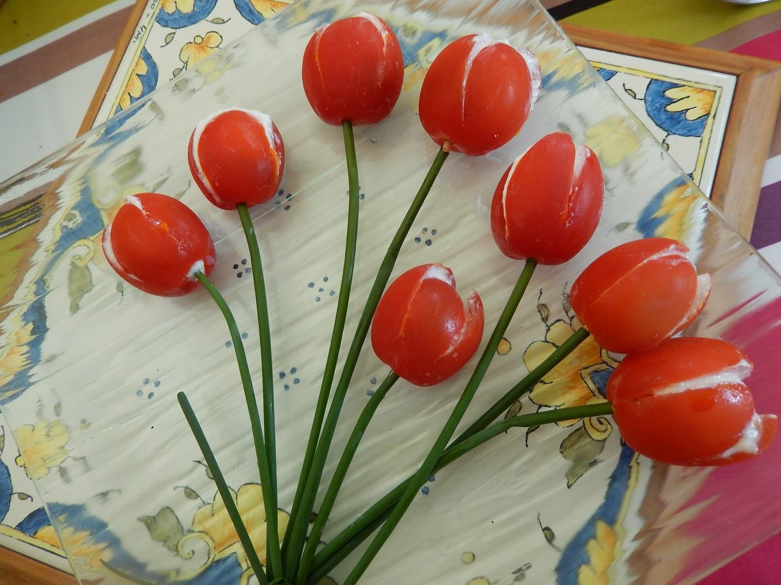 coquelicot et chocolat la tomate tulipe. Black Bedroom Furniture Sets. Home Design Ideas