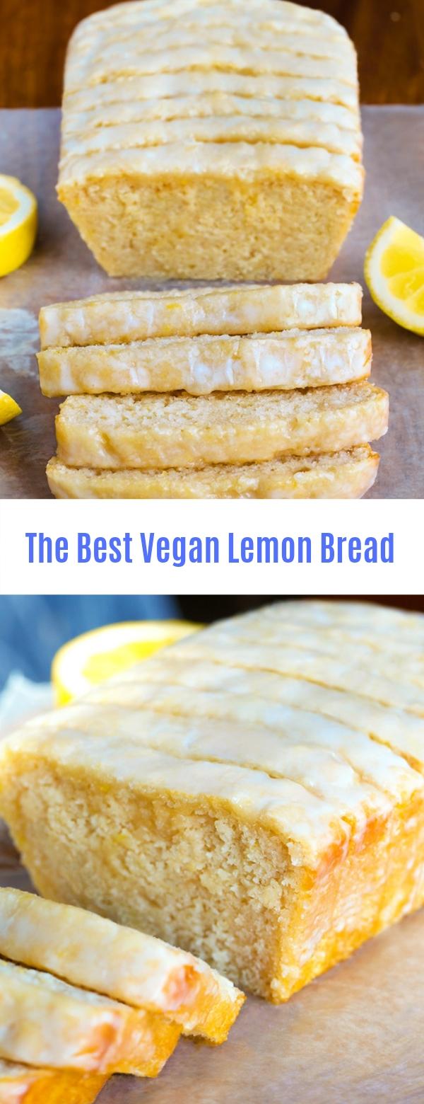 The Best Vegan Lemon Bread