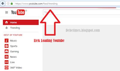 Membuat Efek Loading Blog Seperti Youtube (keren)