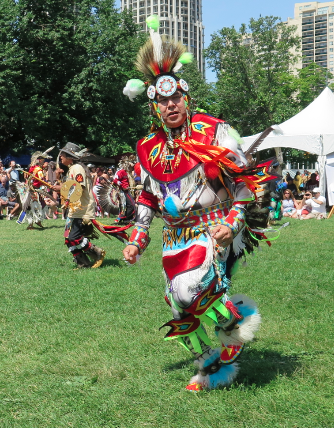 how to pow wow dance