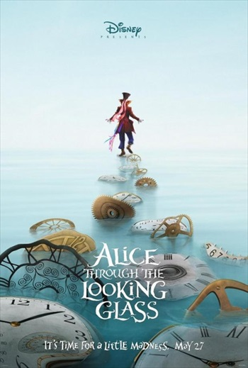 Alice Through the Looking Glass 2016 English Movie Download