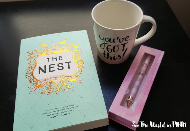 canadian beauty bloggers book and mug swap