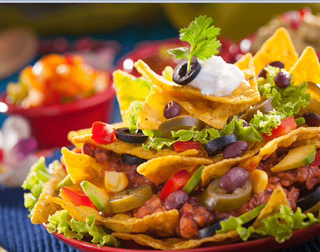 Cornitos Loaded Nachos from Cornitos (Christmas Special Recipe)