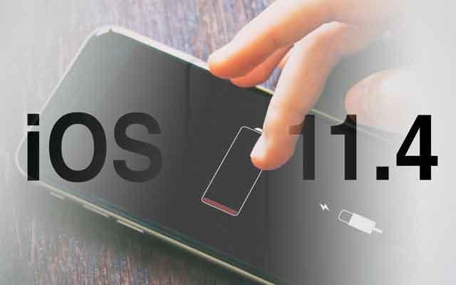 iOS 11.4 descarga los iPhones
