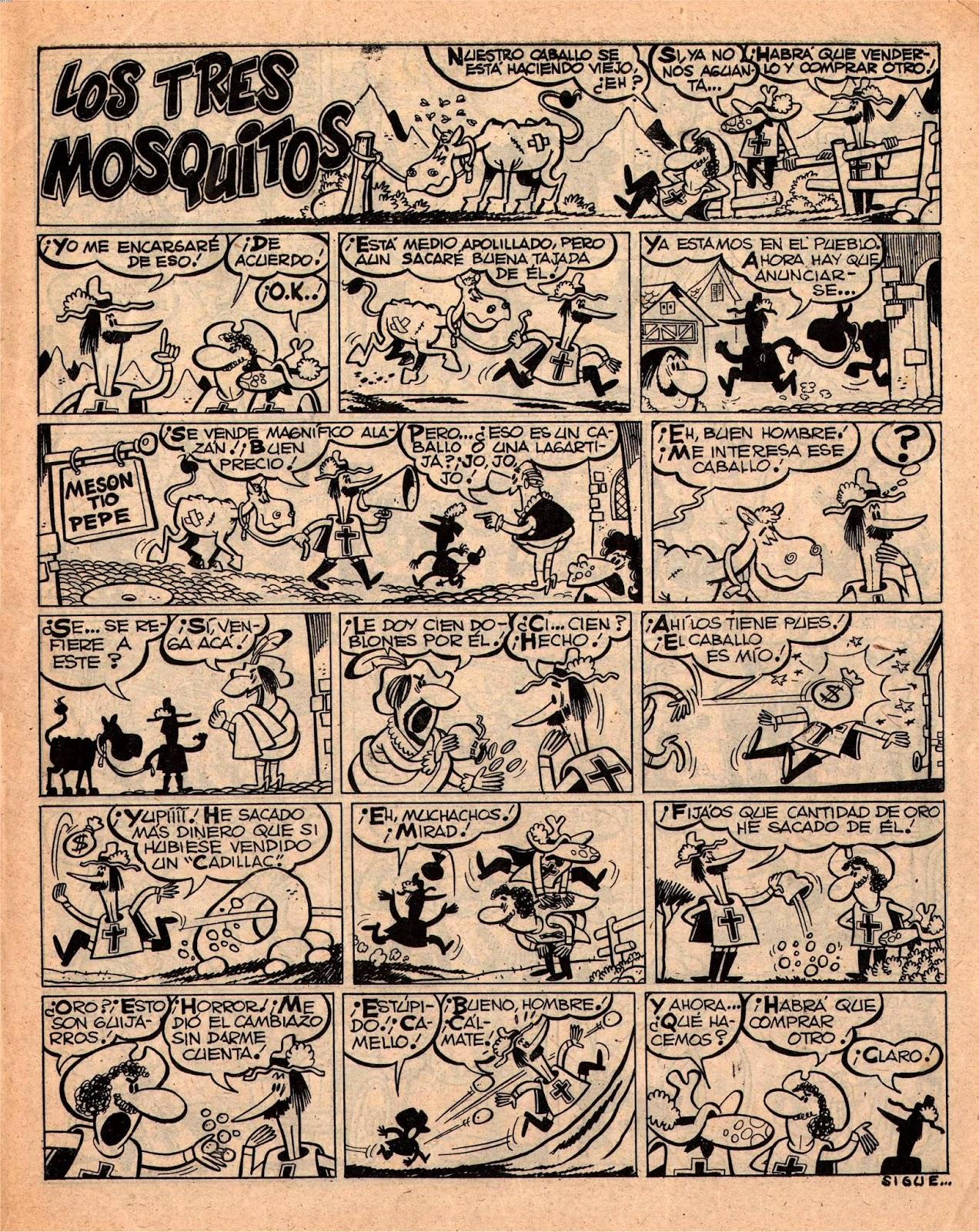 Los Tres Mosquitos, La Risa 2ª 185