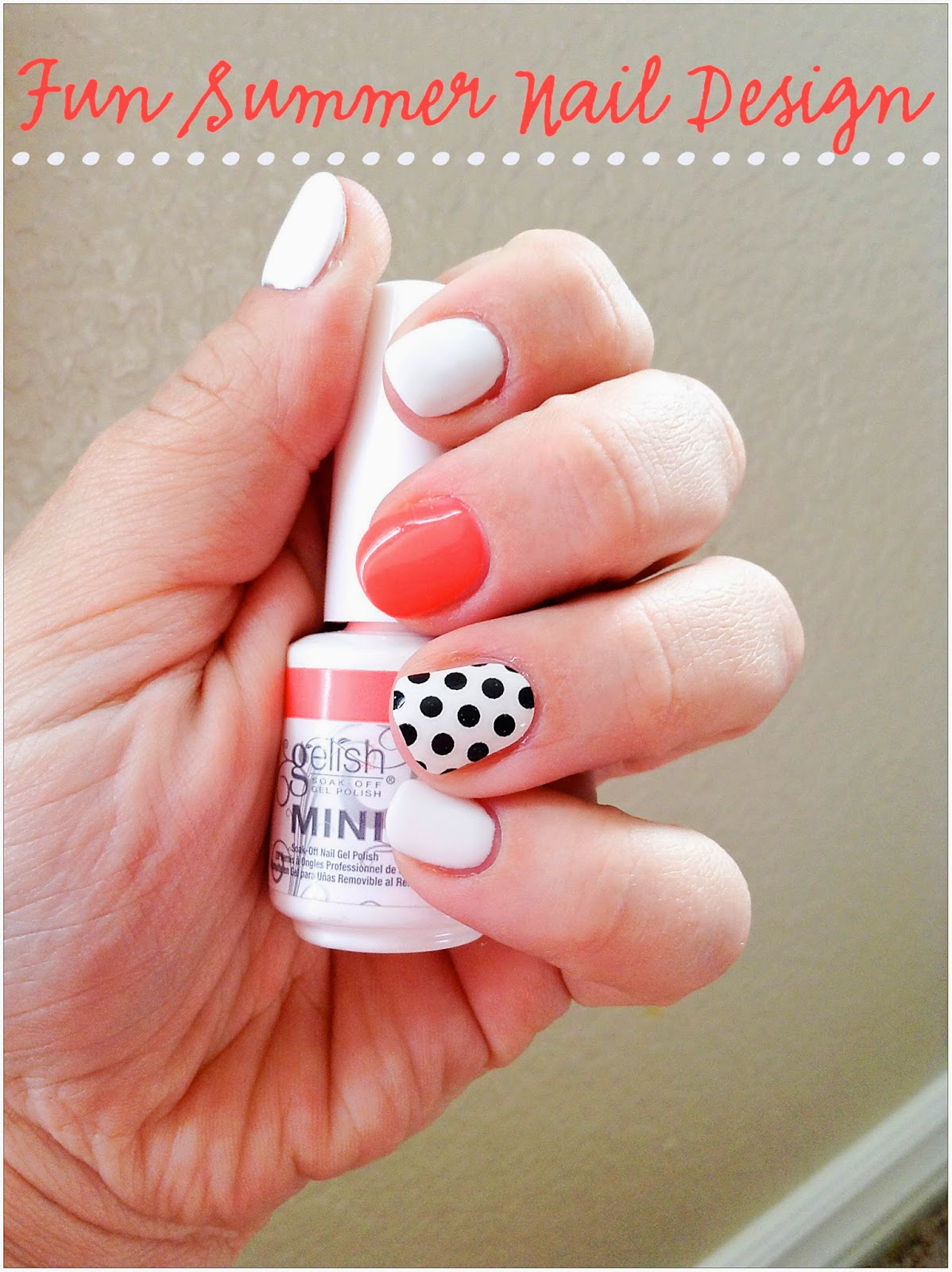 girly nail designs for short nails