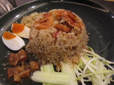 Bangkok, Nara Thai Cuisine, sambal fried rice
