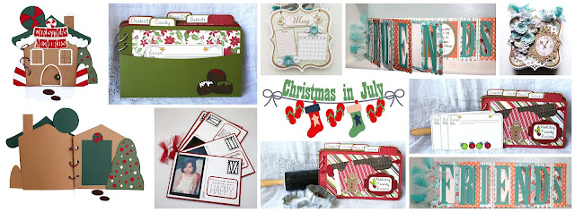 Pazzle Craft Room: I Love 2 Cut Paper: Mini Album Gifts For Christmas