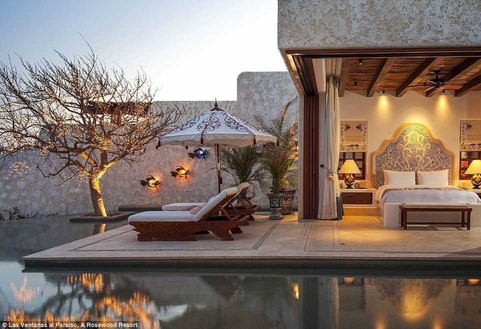 Las Ventanas al Paraíso, A Rosewood Resort, Mexico- 15 Incredible Hotel Rooms Where You Can Sleep Under The Stars.