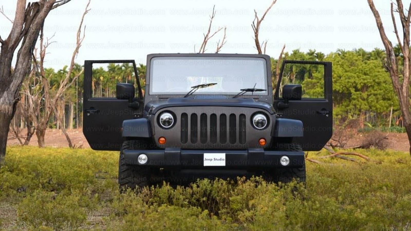 Indian Firm Creates Mahindra Based Jeep Wrangler Replica