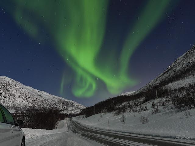 Aurora Boreal - Tromsø, Noruega por Monica Poza