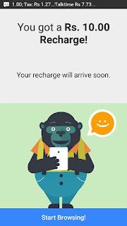 Zen Browser App Recharge Pending