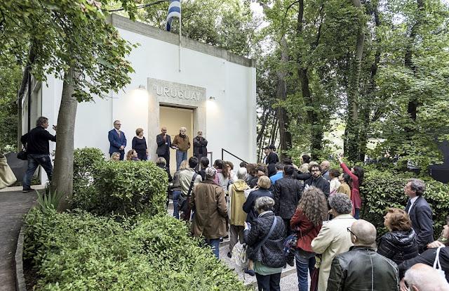Inauguró el pabellón uruguayo en la Bienal de Venecia