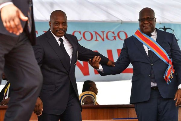 Cunning Kabila Sneaks Back Into Power By Forming Coalition With Current DRC President