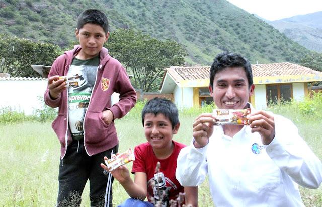 Julio Garay Barrios, es el creador de la galleta que combate la anemia en treinta días