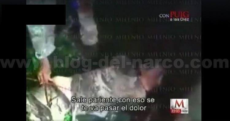 Video Militares ayudan a 'El Kevin' tras ser levantado por los Beltranes, antes de ser emboscados