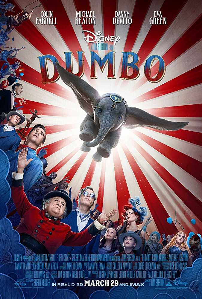Dumbo 2019 Dual Audio DVDRip 800Mb x264