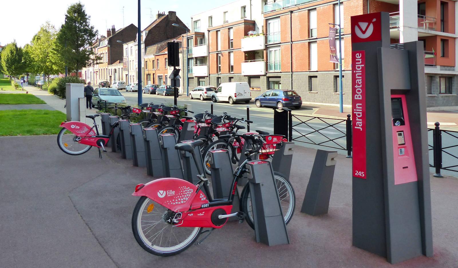 Vélos Location V'Lille Tourcoing - Jardin botanique