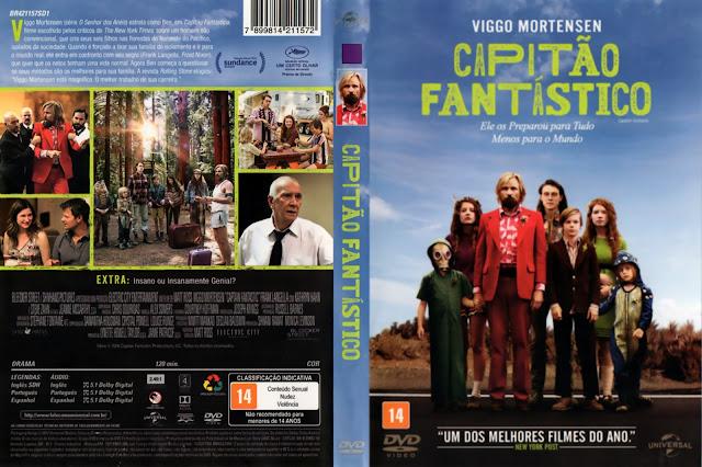 Capa DVD Capitão Fantástico (Oficial)