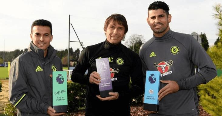 Pedro Menginginkan Costa dan Conte Bisa Tetap Bekerja Sama di Chelsea