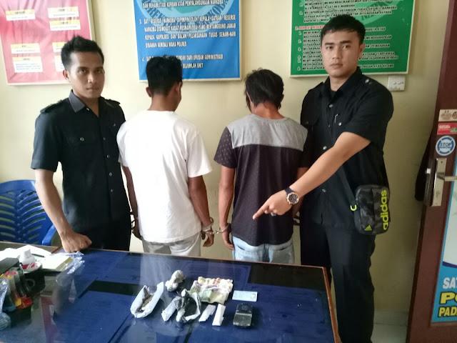 Transaksi Ganja di Kedai Nasi Goreng, Dua Pemuda Buayan Ditangkap Polisi