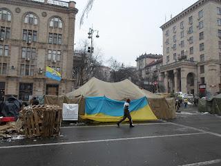 Ukrainische Juden organisieren die Verteidigung des Kiewer Maidan