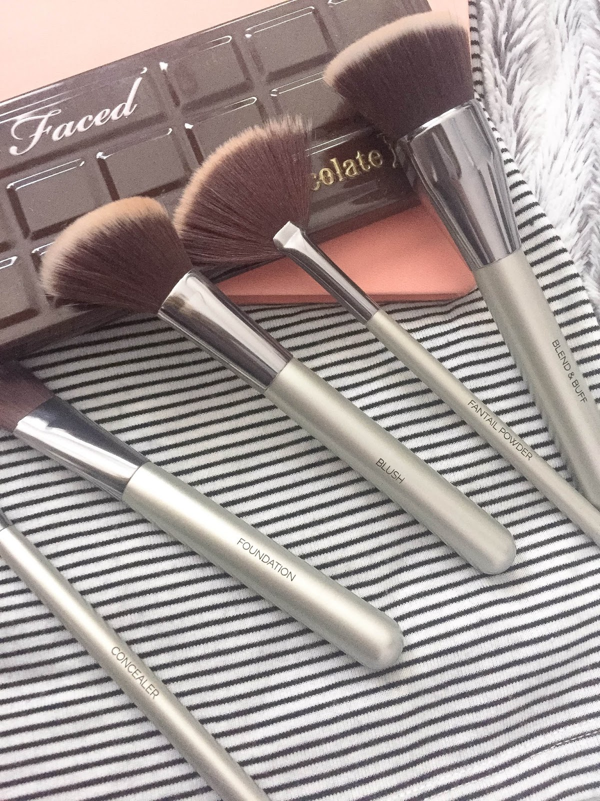 Bella Pro contour brush set review - Della Loves Nutella ♥