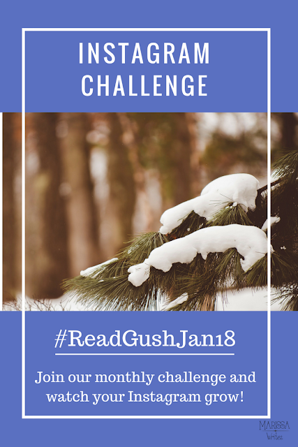 Read Gush January - Bookstagram Challenge