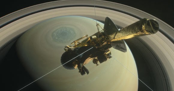 Skenario Terjun Bebas Cassini Ke Planet Saturnus Info Astronomy