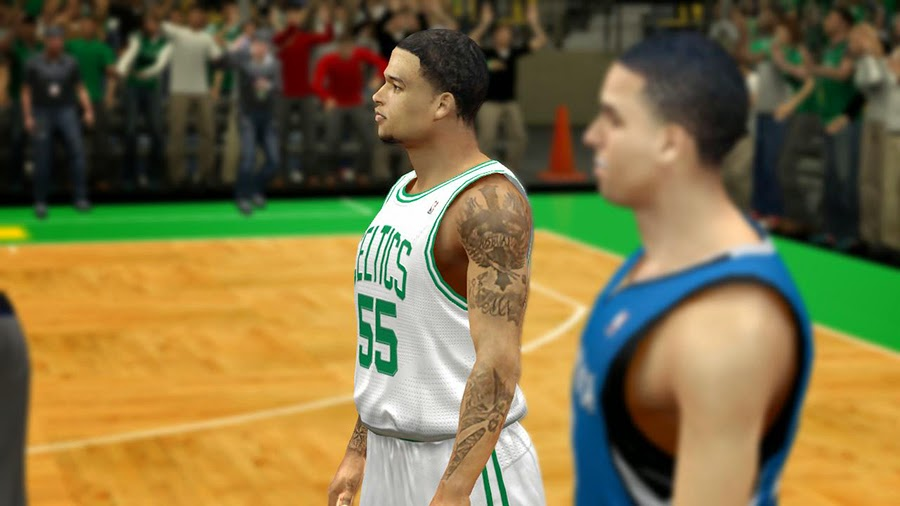 NBA 2K14 Chris Babb Cyberface Mod