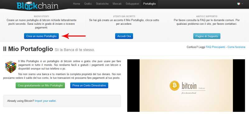 portafoglio bitcoin paypal