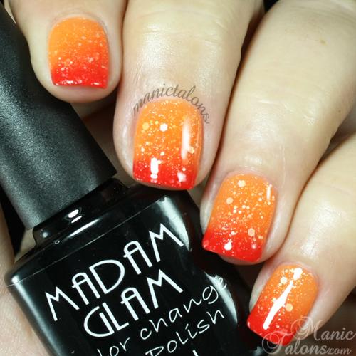 Madam Glam Gel Polish Hot Hot Hot