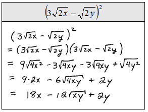 OpenAlgebra.com: Chapter 8 Sample Test Questions