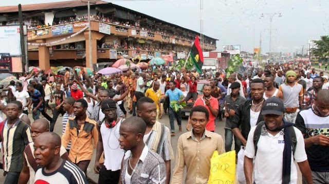 5 Biafra protesters killed, '358' arrested across 4 states