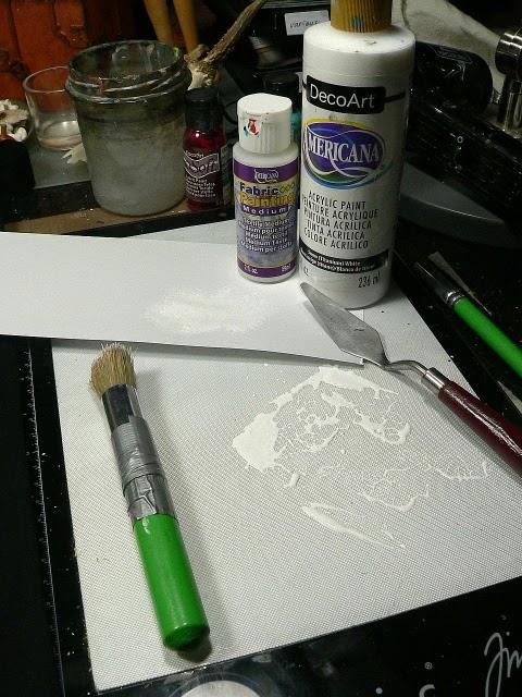 Stencilgirl Talk Artful Celebration Christmas Card And