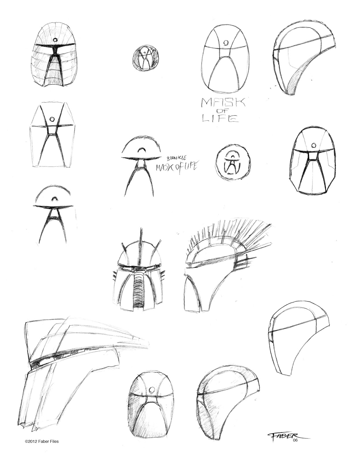 Faber Files Mask Of Life Concept
