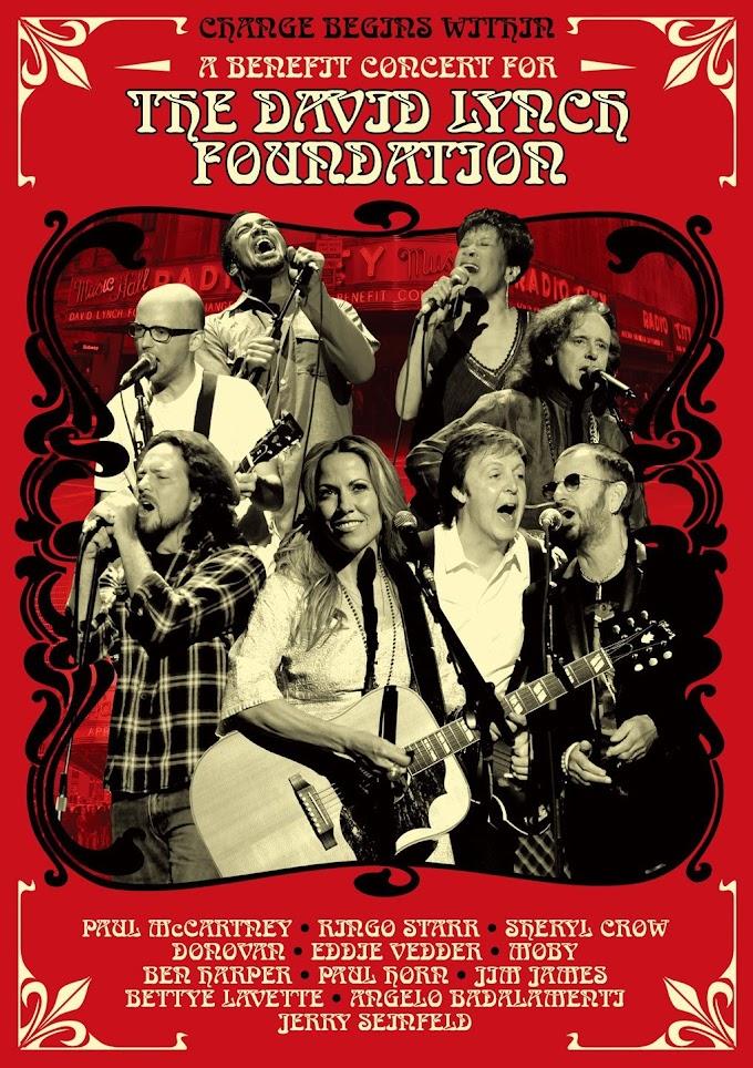 『ポール・マッカートニー with リンゴ・スター&フレンズ Change Begins Withinコンサート2009』DVD/Blu-ray 2017年5月31日 日本先行発売