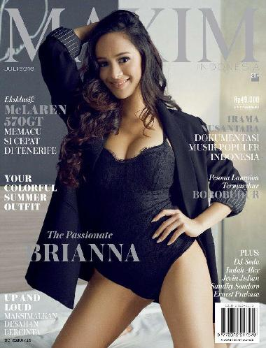 Download Majalah MAXIM Indonesia Edisi Juli 2016 Brianna Simorangkir, The Passionate | www.insight-zone.com