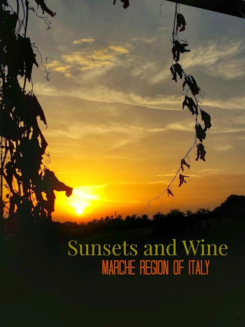 Sunsets and Wine in Marche, Italy, Tenuta Carlini Winery, Marche, Italy, Sunsets
