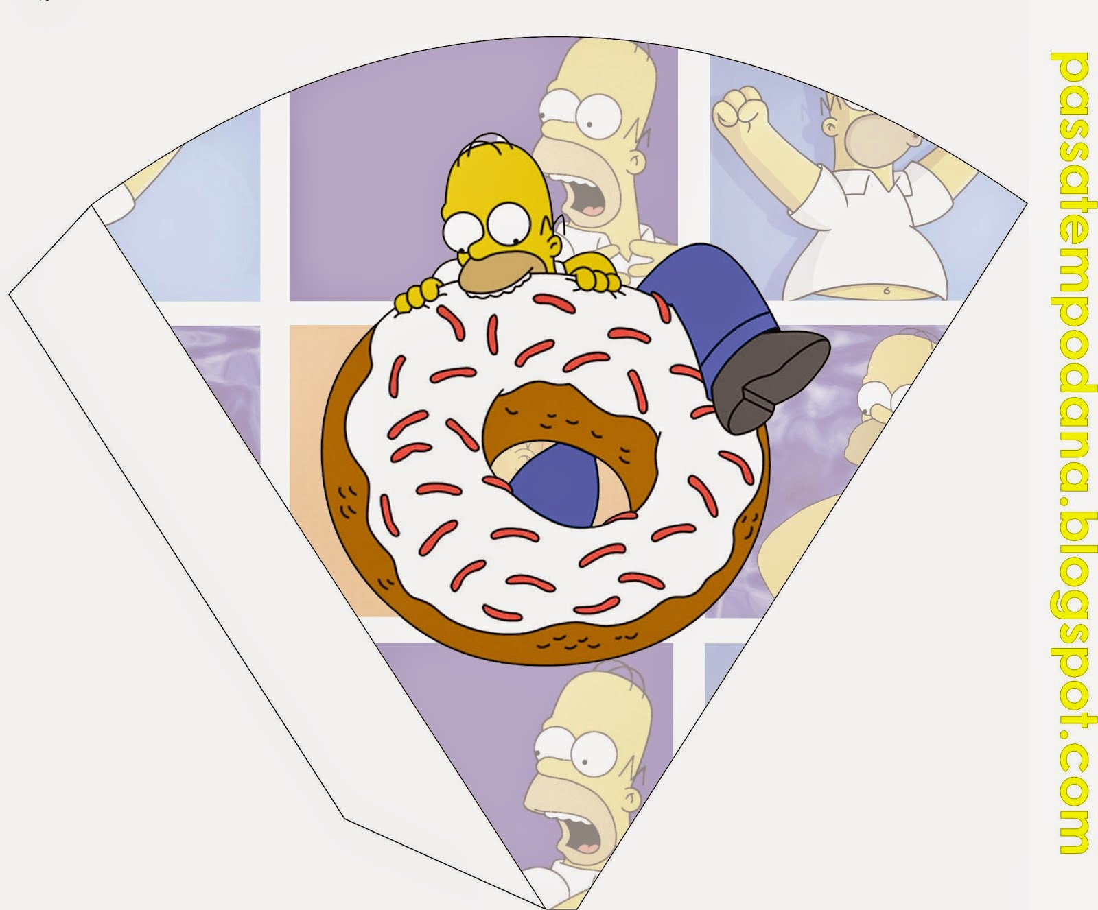 Simpsons: Free Party Printables.